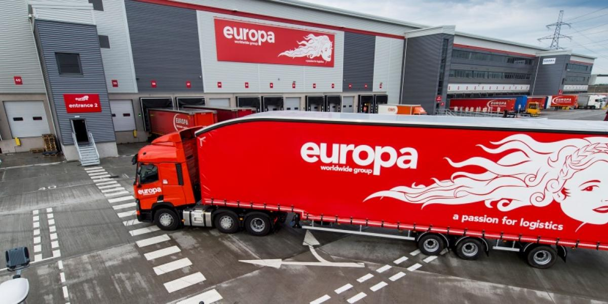 Europa starts work on £60m logistics project image