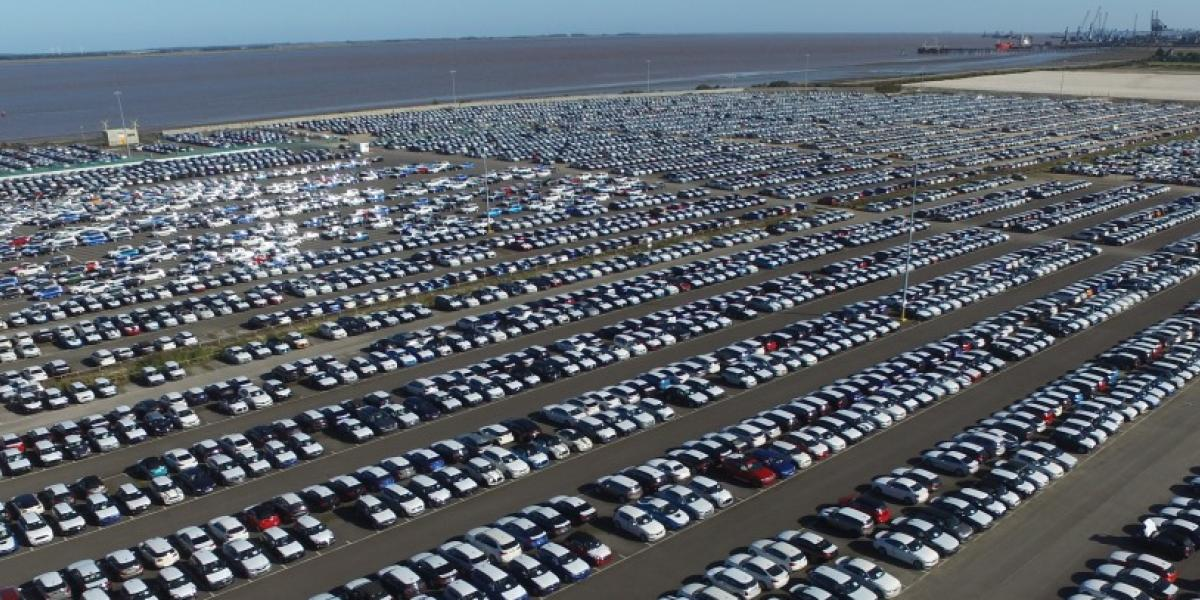 Two million vehicles shipped by Toyofuji Shipping between the Zeebrugge and the UK image