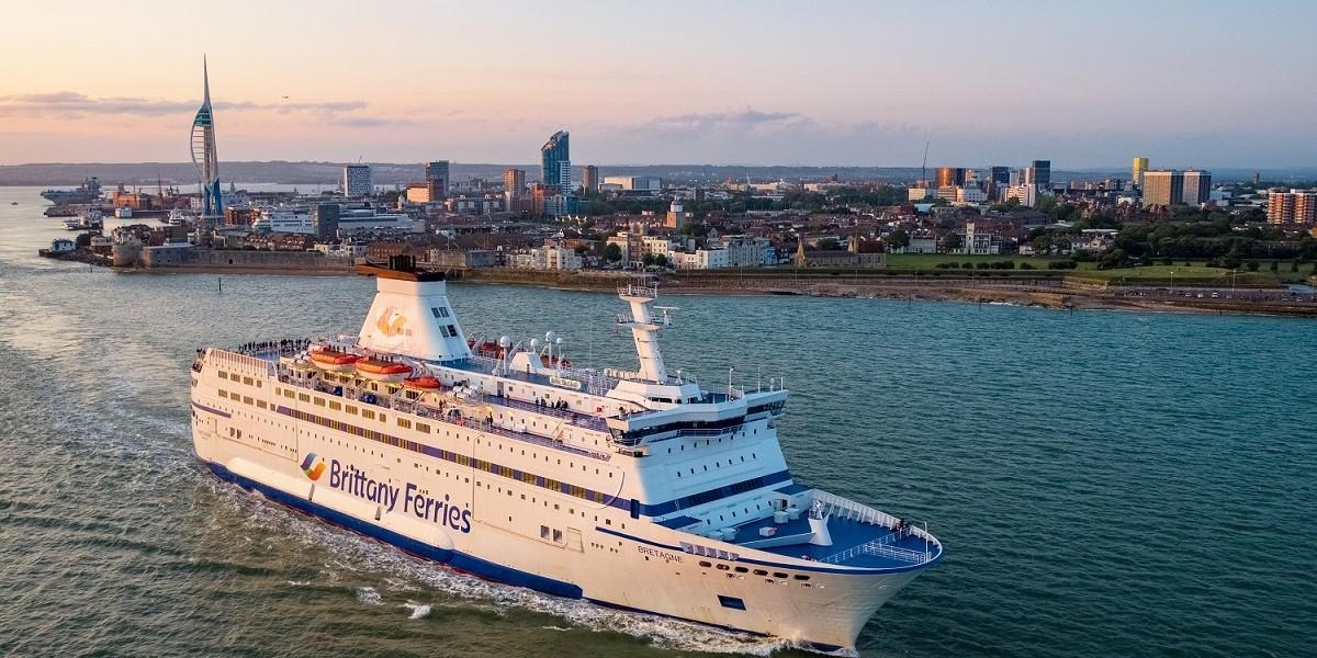 Brittany Ferries and Cherbourg unveil intermodal plan image