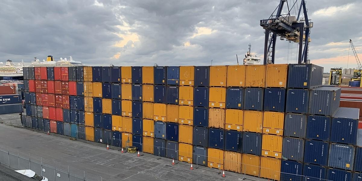 Forth Ports plays a quay role in keeping the economy and freight moving image