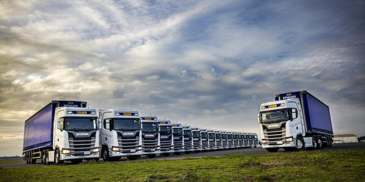 Kersey Freight expands fleet with high performing Scania S series image