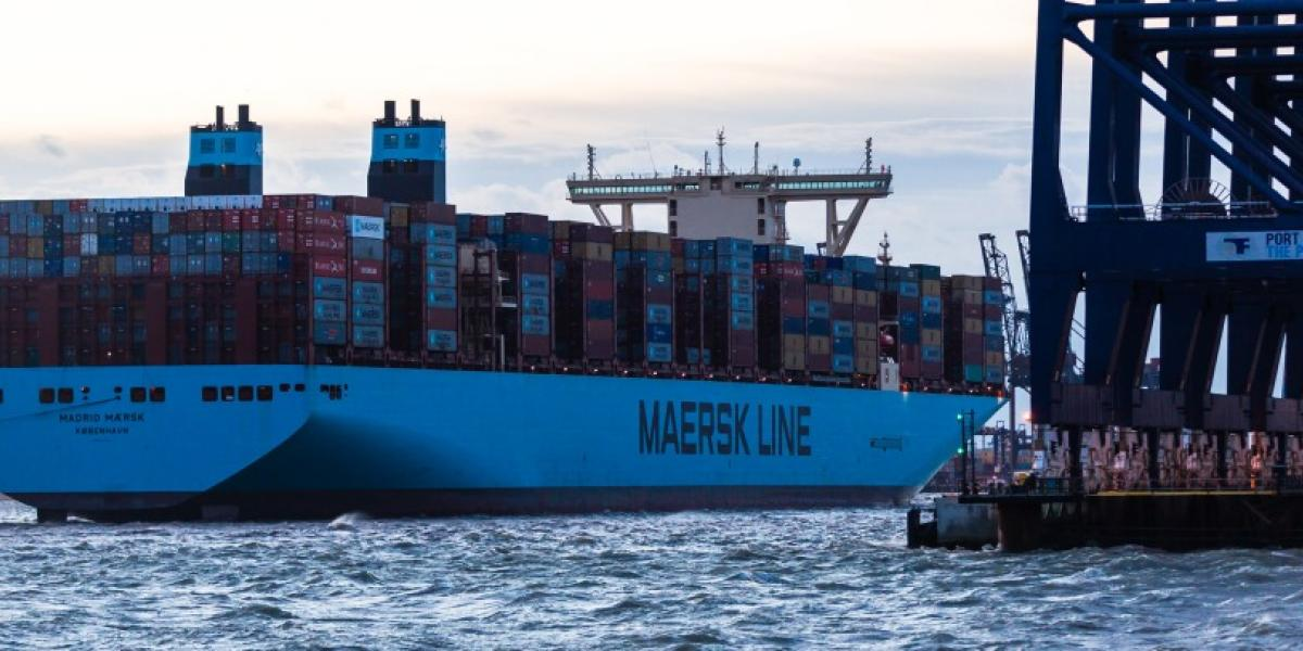 Maersk speeds things up image