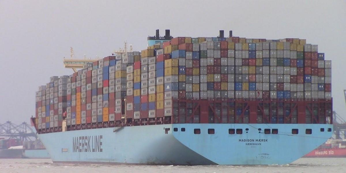 Maersk productivity and cost control delivers higher profits in difficult market image