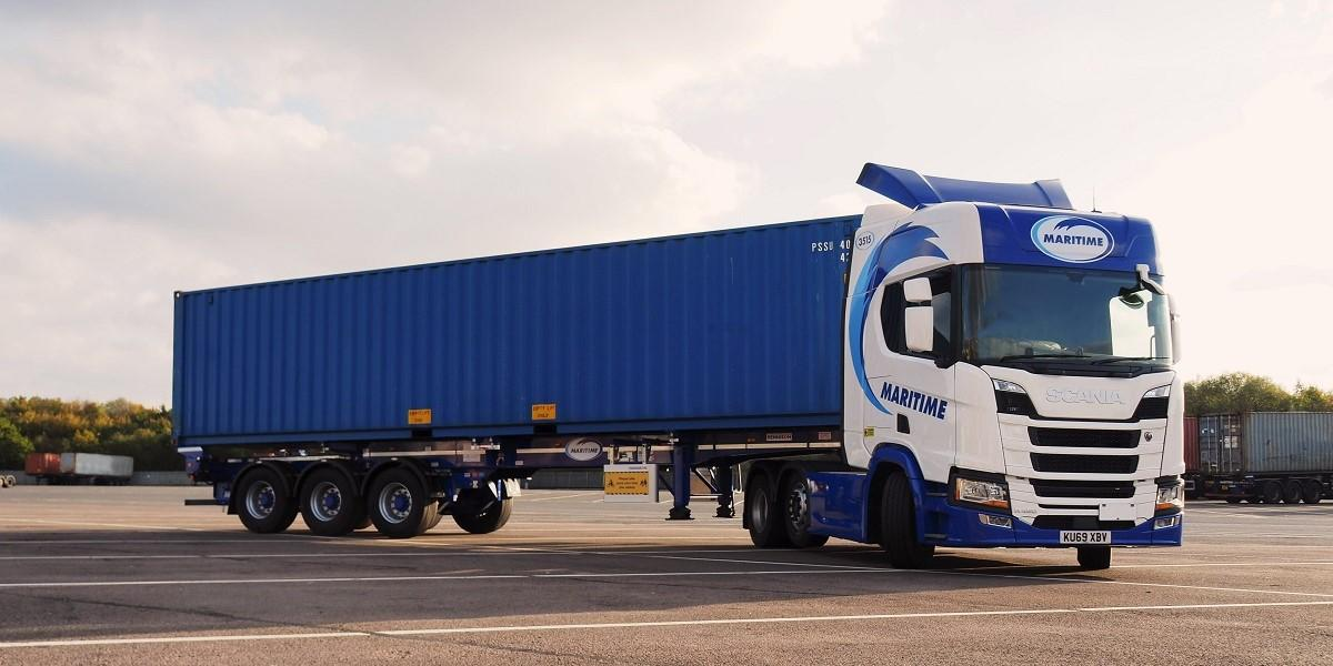 Three hundred and ten skeletal trailers added to Maritime's fleet image