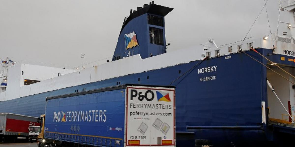 "P&O Ferrymasters enters into strategic partnership to facilitate ""no-deal"" Brexit customs declarations image"
