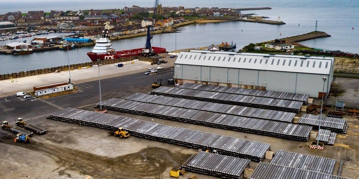 PD Ports wins major pipeline contract with global manufacturer at Hartlepool image