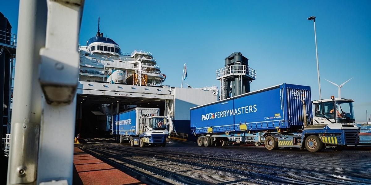 P&O Ferrymasters wins AA rating for its distribution of foodstuffs image