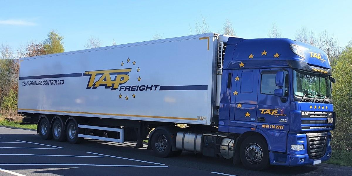 Tapfreight innovate to keep driver's safe avoiding customer's own paperwork with Mandata ePOD solution image