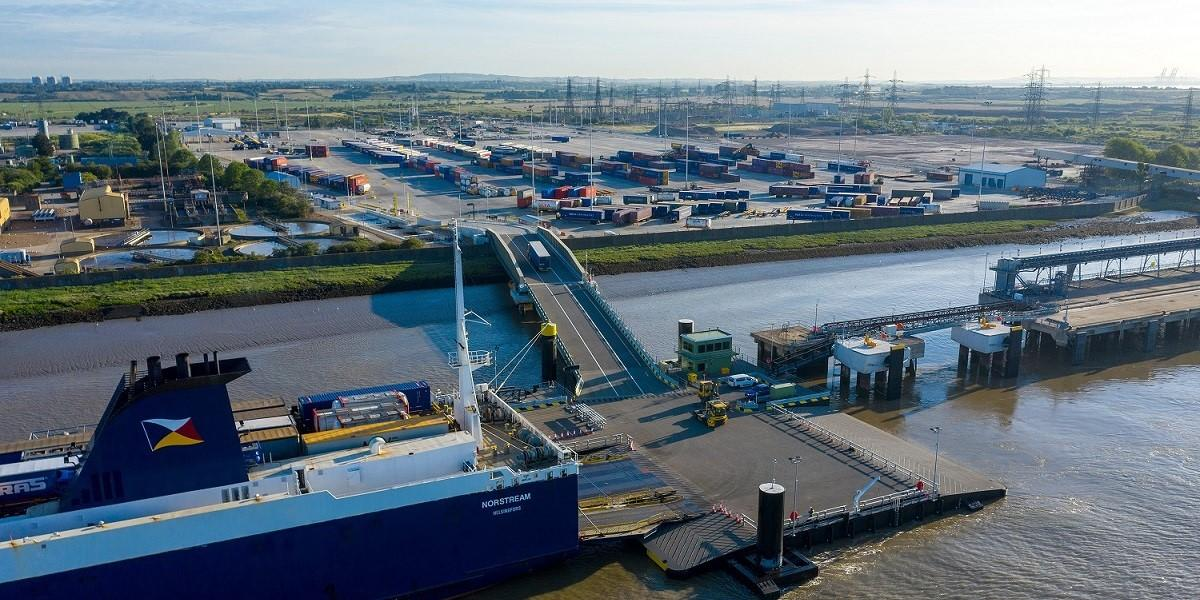 New driver-free freight ferry terminal opens for business in Tilbury image