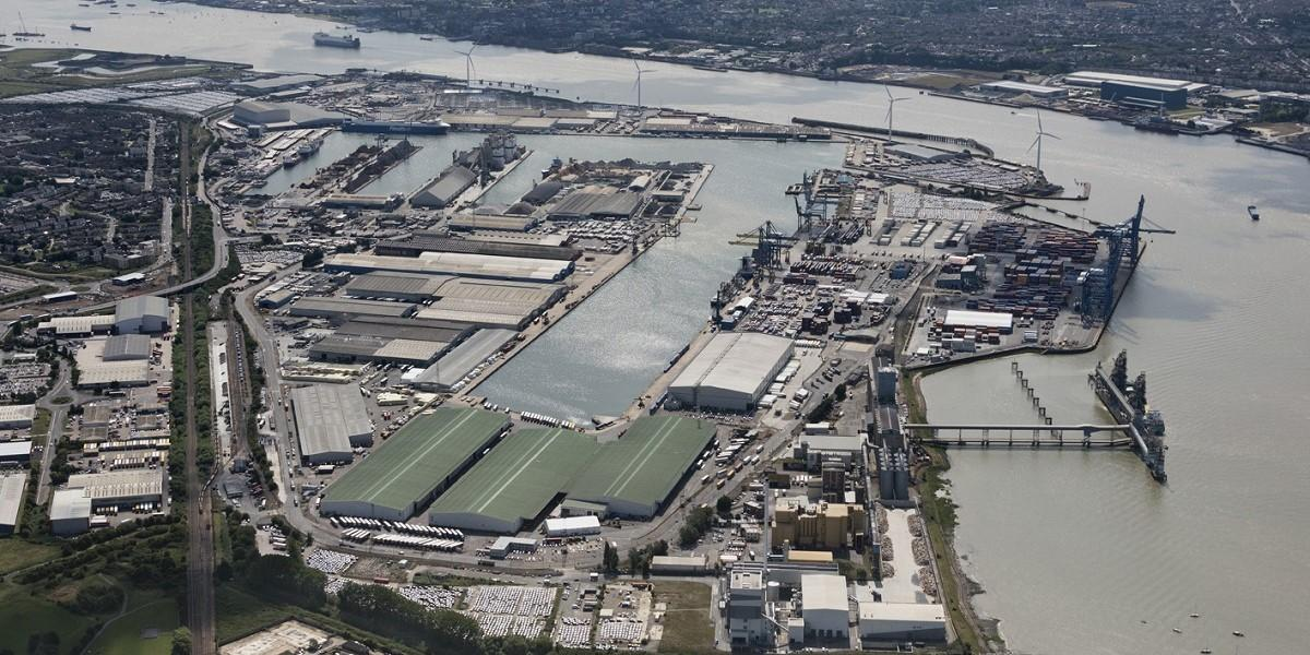 Wilson James expands its construction logistics operation into the Port of Tilbury image