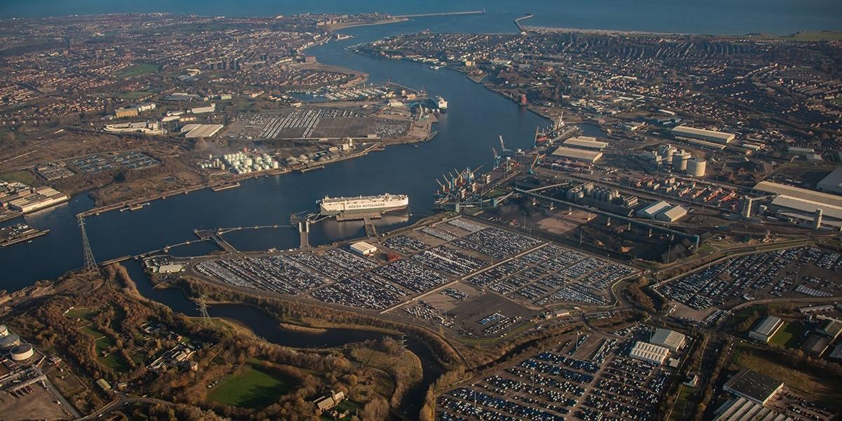 Port of Tyne first UK port to become a connected ports partner image