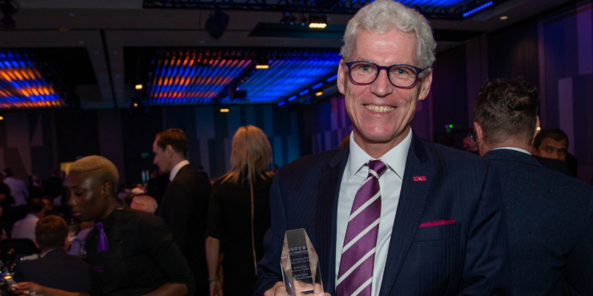 One Shipping CEO Jeremy Nixon wins Personality of the Year Award at Multimodal 2019 image