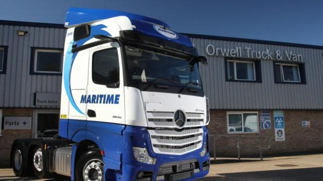 Maritime Transport orders 100 new-generation Mercedes-Benz Actros from Orwell