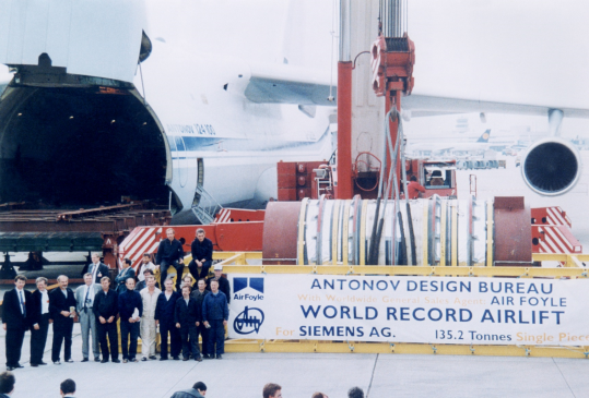 Antonov celebrates 30 years of innovation in the aviation breakbulk business image