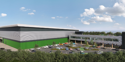Baytree selects Glencar to build state of the art 180,000 sq ft sustainable logistics scheme in Milton Keynes image