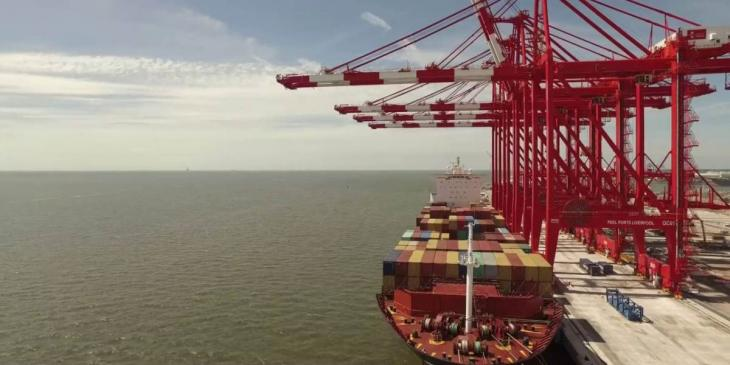 Megamax cranes delivered to Liverpool2 terminal image
