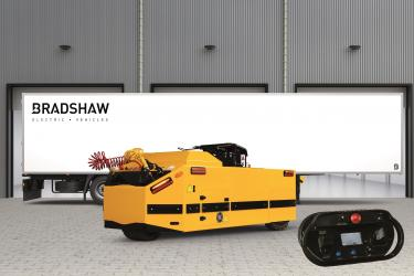 Bradshaw Launches High Performance Fully Electric Remote-Controlled Articulated Trailer Mover