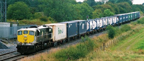 10 Years of IWT Intermodal trains in Ireland