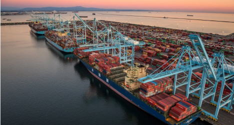 A.P. Moller - Maersk reports record earnings and continued growth momentum in logistics in Q2