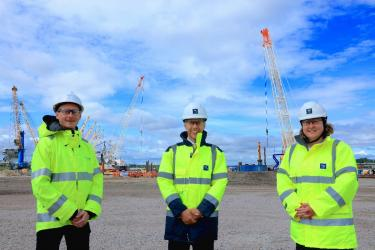 PORT OF TYNE IMPRESSES ENERGY MINISTER WITH CLEAN ENERGY PARK AND AWARD WINNING ROADMAP